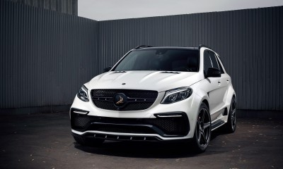Mercedes-Benz GLE 63 Wagon INFERNO. WHITE