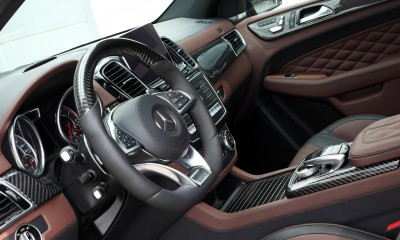 Mercedes-Benz GLE63 INFERNO interior