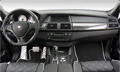 BMW CLR X 650 Lumma Design Deep Black interior