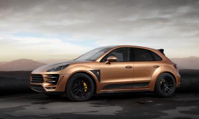 Porsche Macan URSA. Aurum Metallic