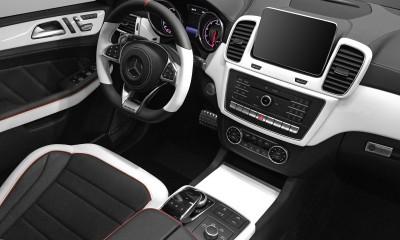 Black & White: GLE Coupe Interior