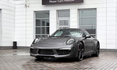 Porsche 991 Stinger Agate Grey