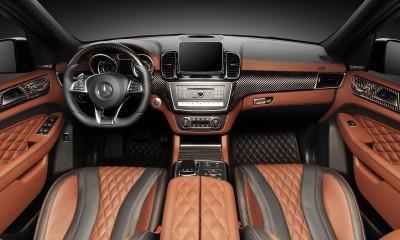 Mercedes-Benz GLE63 INFERNO wagon interior