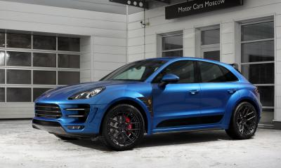 Porsche Macan Ursa Sapphire Blue