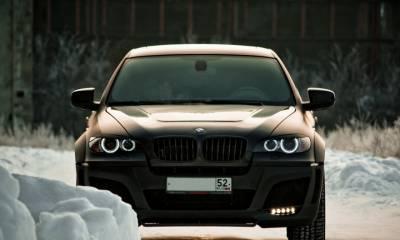 BMW CLR X 650 Lumma Carbon Gray