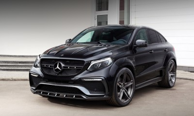 Mercedes Benz GLE Coupe Inferno Black