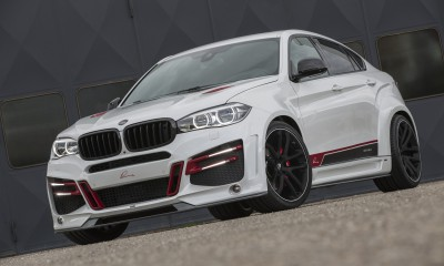 BMW Lumma CLR X6 R. White