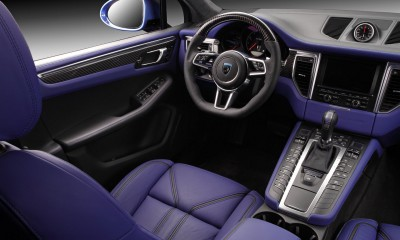 Interior Porsche Macan Ursa