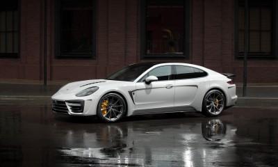 Porsche Panamera Stingray GTR edition - Crayon
