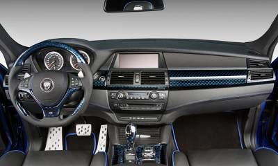 BMW CLR X 650 M Lumma interior