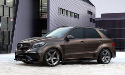 Mercedes-Benz GLE Wagon INFERNO - BROWN