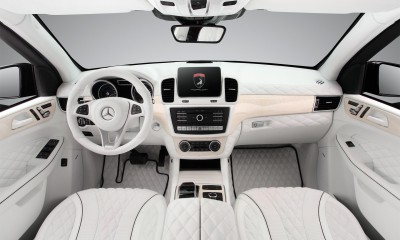 Mercedes-Benz GLE Guard - White Interior