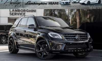 2014 Mercedes-Benz ML63 AMG INFERNO