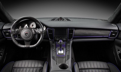 Interior Porsche Panamera Stingray GTR 2014