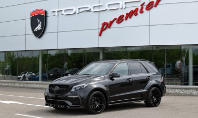 Mercedes-Benz GLE Wagon 43 AMG INFERNO - Black