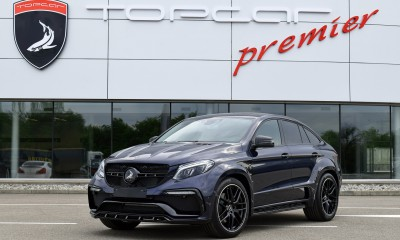 Mercedes-Benz GLE Coupe 43 AMG INFERNO - Deep Blue