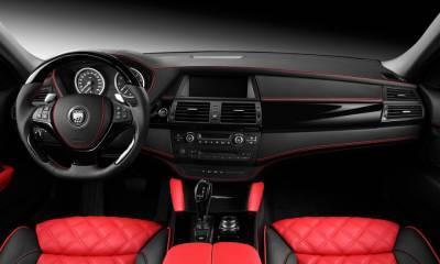 BMW Lumma Red