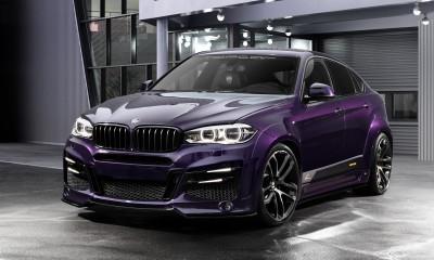 BMW X6 - Lumma CLR X6 R Amethyst