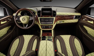 Mercedes-Benz GLE Guard INFERNO - Interior