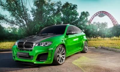 Lumma CLR X 650 M Green Chrome