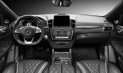 Mercedes-Benz GLE Coupe 63 INFERNO. Black Carbon Interior.