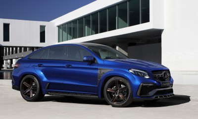 Mercedes-Benz GLE Coupe INFERNO - Blue Gem