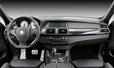 BMW CLR X 650 Lumma Design black Mat interior