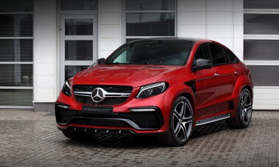 Mercedes Benz GLE 450 Coupe Inferno Red