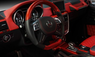 Mercedes-Benz G63 RED interior