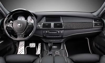 BMW CLR X 650 Lumma M White interior
