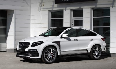 Mercedes-Benz GLE Coupe INFERNO. White.