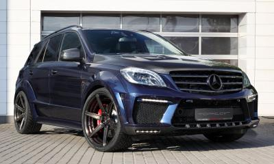 Mercedes Benz ML63 Inferno Dark Blue