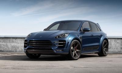 Porsche Macan URSA Dark Blue