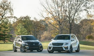 Finally Mercedes ML 63 INFERNO in United States