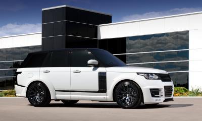 Range Rover Vogue 2013 Lumma CLR R White