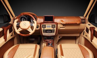 Interior Mercedes-Benz G65 Hamann SPYRIDON