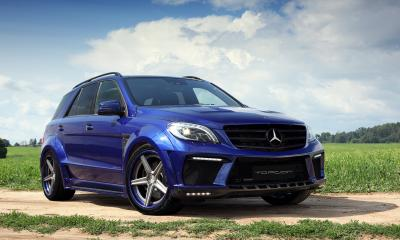 Mercedes Benz ML500 INFERNO San Marino Blue & ADV5 SL Track Spec