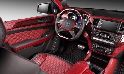 Interior Mercedes Benz ML Inferno Special Edition Deceptikon