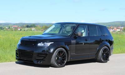 Range Rover Vogue 2013 LUMMA CLR R Black