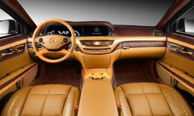 Interior Mercedes-Benz S600 Guard (W221)