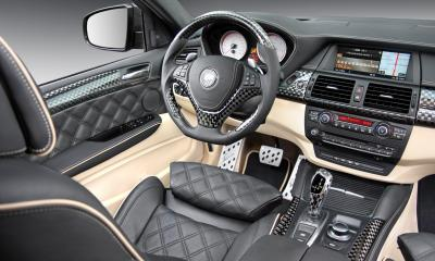 BMW CLR X 650 Lumma Carbon interior