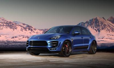 Porsche Macan Ursa Blue